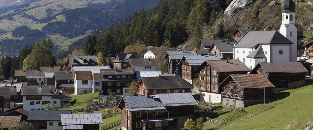 Ustria Steila Ð 7157 Siat Ð GraubŸnden Ð Schweiz